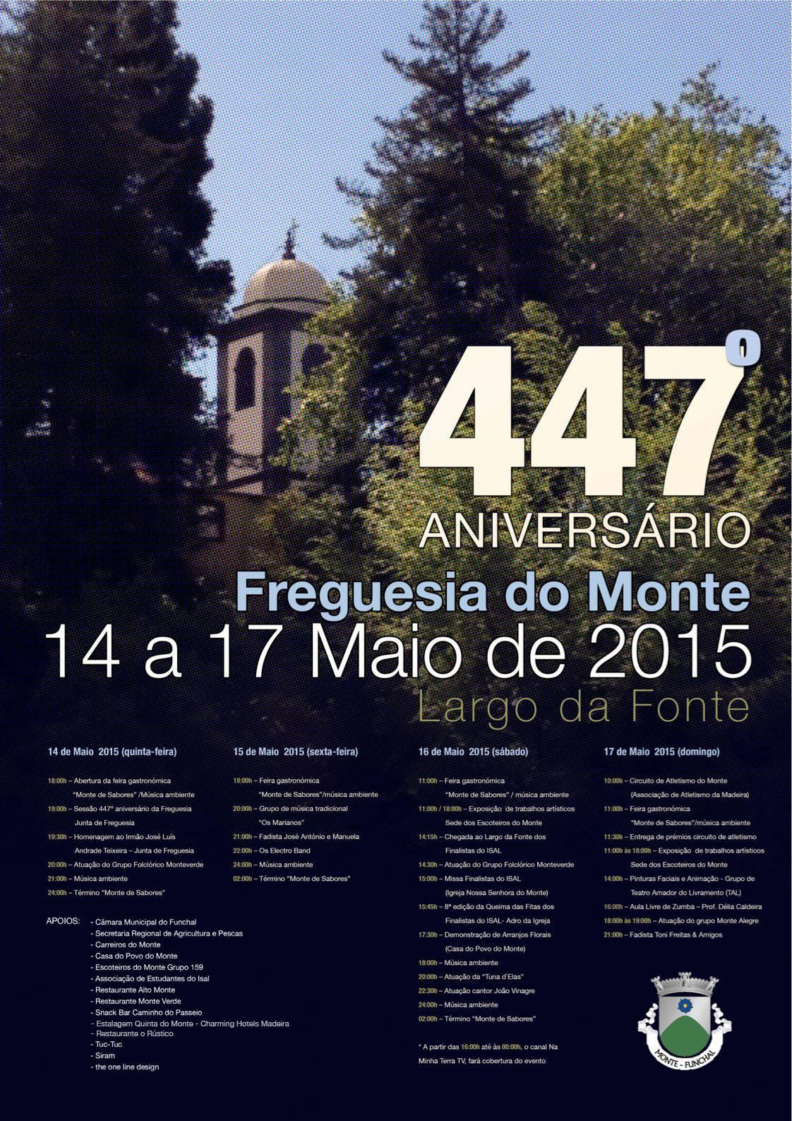 447  Cartaz aniversário Monte